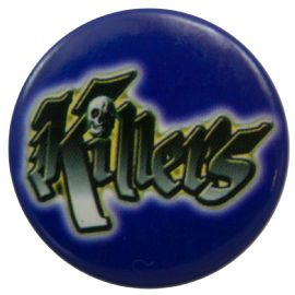 Killers - 'Logo Blue' Button Badge